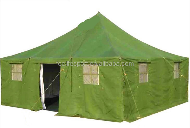 Feelife Brand good quality canvas army military <strong>tent</strong> made in China