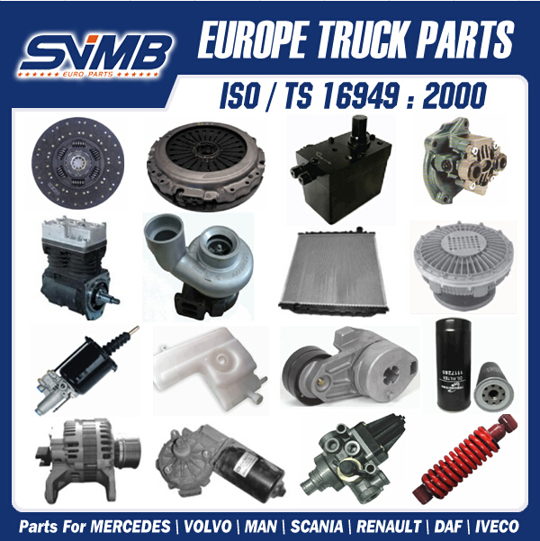 More than 1000 different truck parts renault magnum