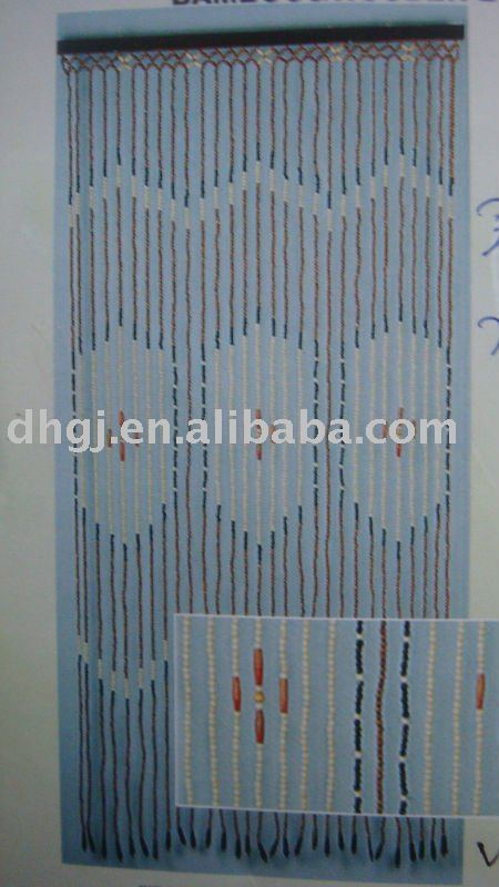 Decorative Wooden Beads Curtain