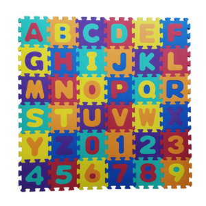 Wholesale Cheap Baby or Kids EVA Foam Interlocking Jigsaw Puzzle Exercise Floor Play Gym Mat