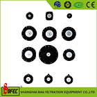 Import German bag filter black rubber diaphrogm for pulse valve