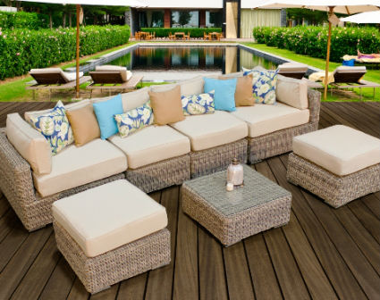 693 Hot Sale Pe Rattan Sofa Set Furniture Philippines Buy Sofa Set