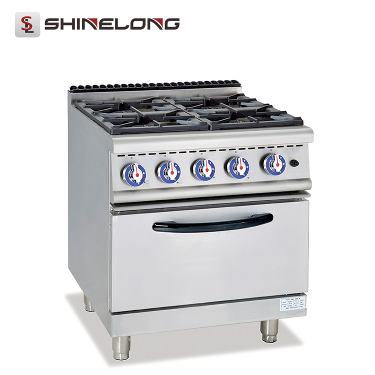 K011 Wholesale Price With Electric Or Gas Oven 4 Burners Gas Cooking Range