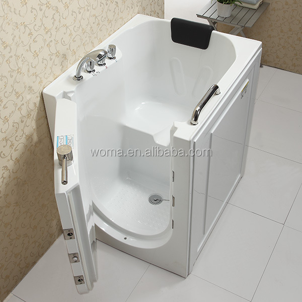 Cupc Certificate Indoor Portable Elderly Walk In Bathtub