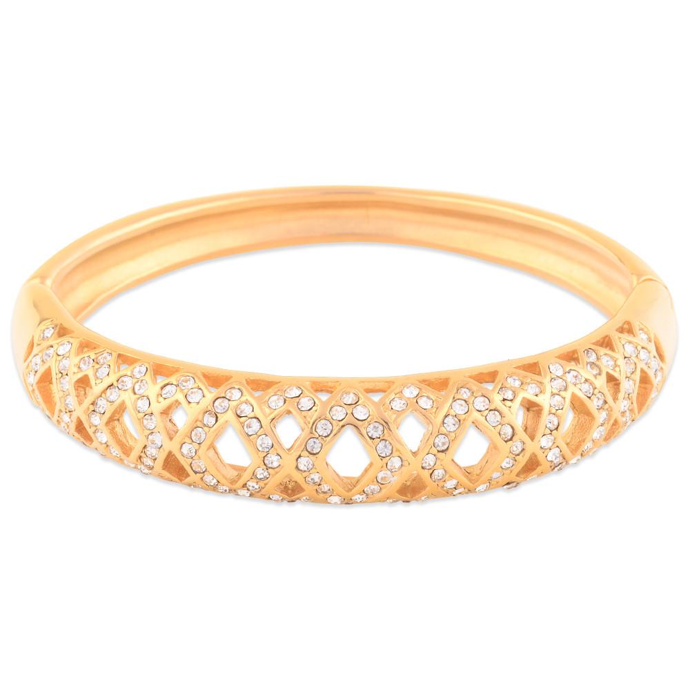 Latest Design Daily Wear Fancy Diamond Bangle - Buy Diamond Bangle ...