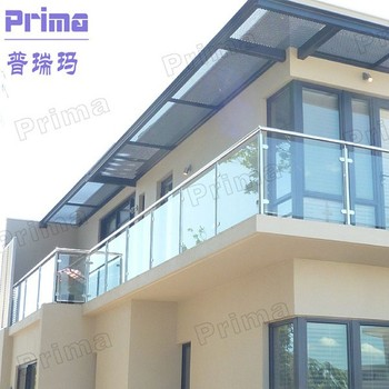 Modern New Design Exterior Steel Balcony Railing Designs