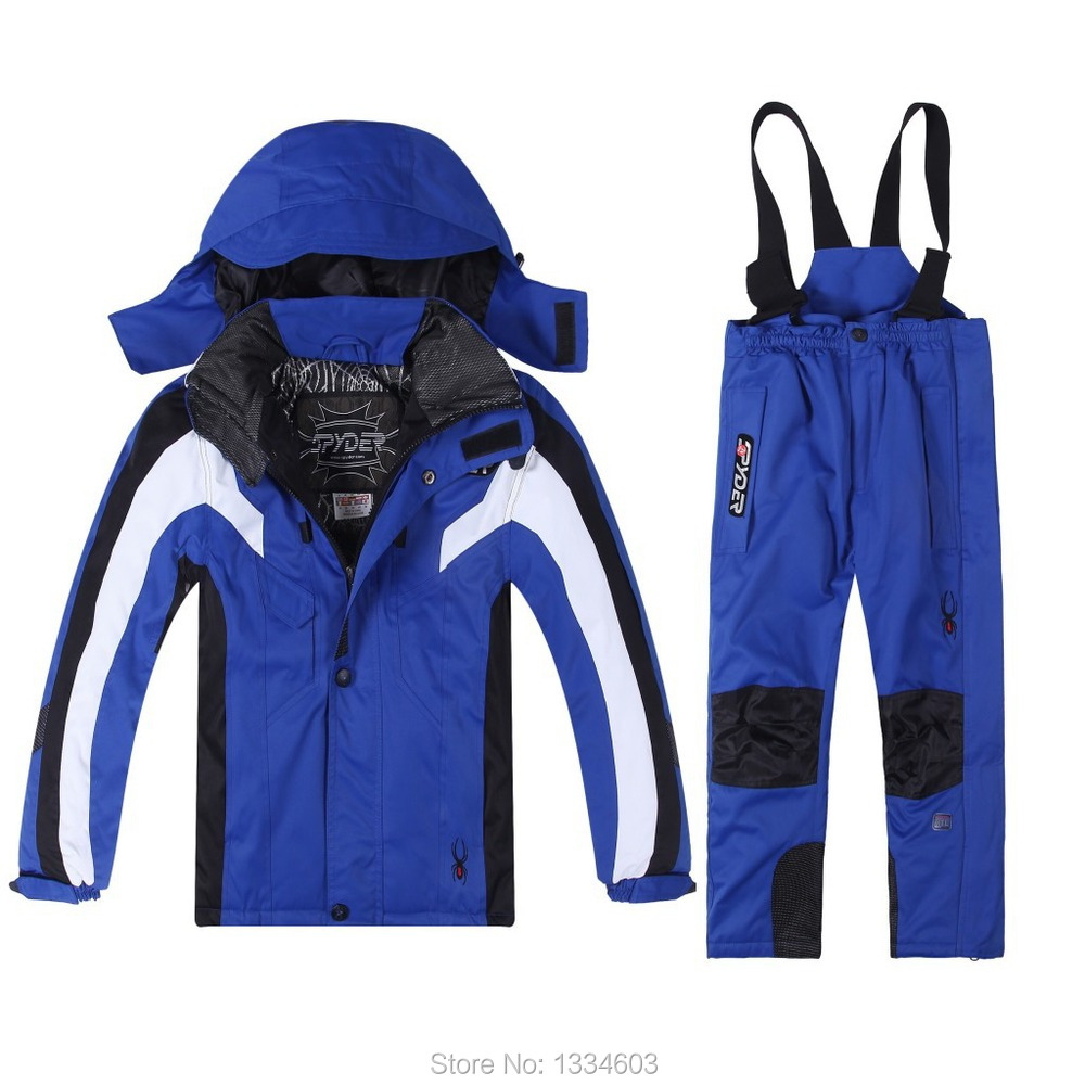 6ad451876b Get Quotations · 2015 new children winter snow suit baby boys fashion  clothing set kids ski suit wear boys