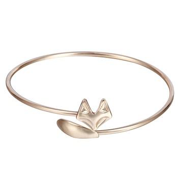 plus récent dbaf3 55064 Ouverture Réglable Manchette Renard Vintage Autour Bracelet Mode Bijoux  Cadeau Pour Les Femmes Et Les Filles - Buy Derniers Bracelets De Mode De ...