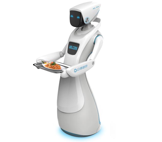 roboți comerciali comerciali