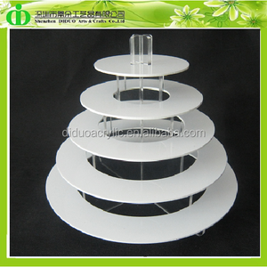 DDC-M003 5 Tiers Acrylic Macaron Stand