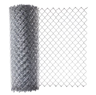 12 Ft High 2 X 9 Ga Vinyl Coated Chain Link Fence Mesh 50 Ft Roll Fence Material
