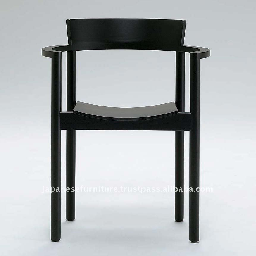 Wood Japanese Style Chair With Arm Theo   Buy Solid Wood Arm Chairs,Dining  Chair,Restaurant Chair Product On Alibaba.com