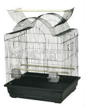 "Top Stand Parrot Cage, Small Bird Cage, Bird Breeding Cage by Size 25""x21""x30"""
