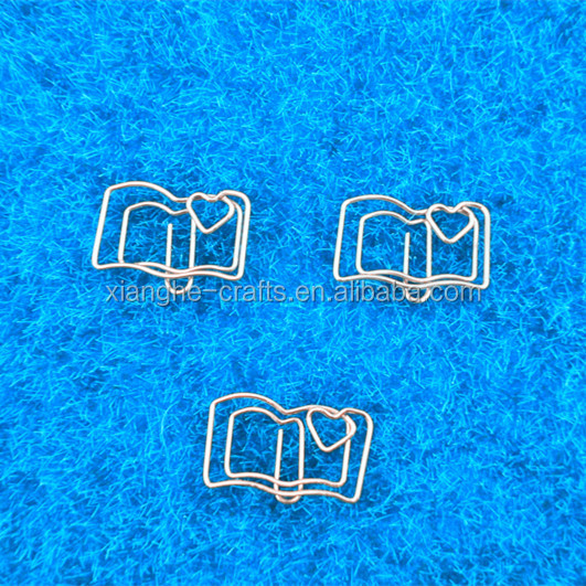 Free sample different shape custom paper clip