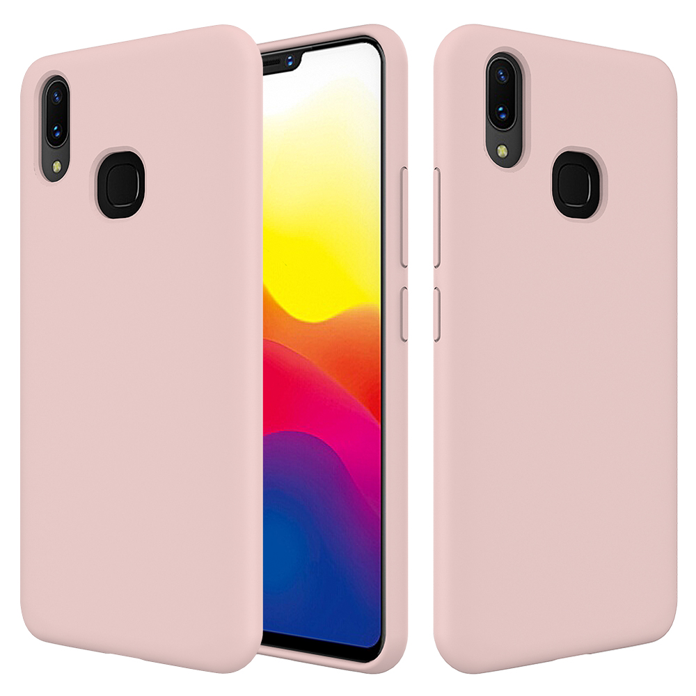 For Vivo X21 Back Case,Dirt Proof Liquid Silicone Case Cover For Vivo X21  With Soft Microfiber Cloth Lining - Buy For Vivo X21 Back Case,Case Cover