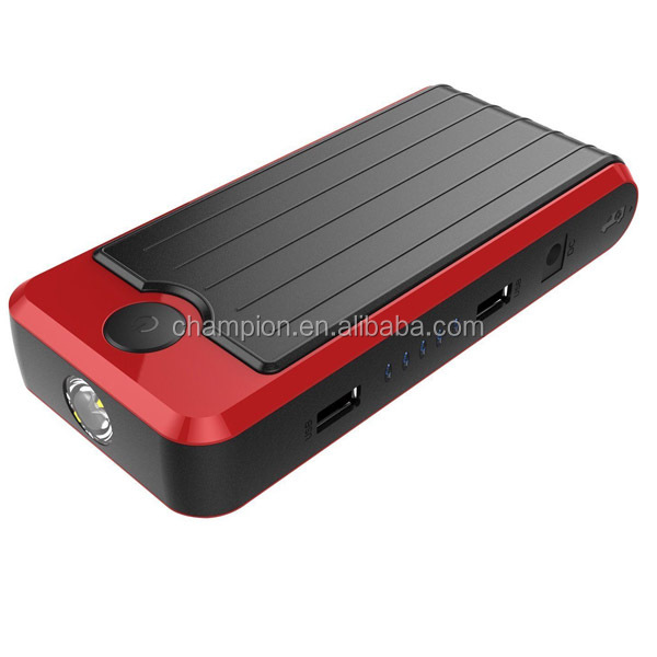 12000mAh Red and Black jump starter best selling car accessories jump box