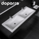 Double sink and artificial stone wash hand basin