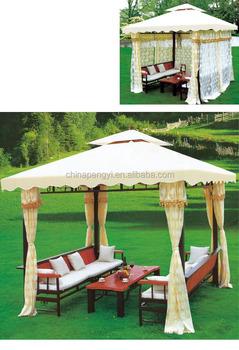 En Plein Air Gazebo Tente,Jardin Gazebo Avec Moustiquaire,Tissu ...