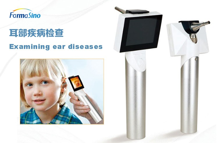 Veterinary Portable Handheld Diagnostic Device USB Otoscope Camera And Rhinoscope