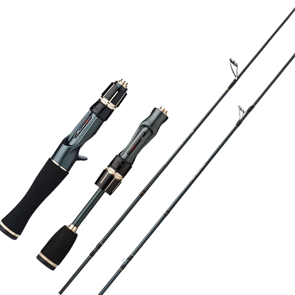 CEMREO 145cm 165cm 2-6g Extra Fast Carbon Solid Tip 1.5 Section Spinning/Casting Fishing Rod