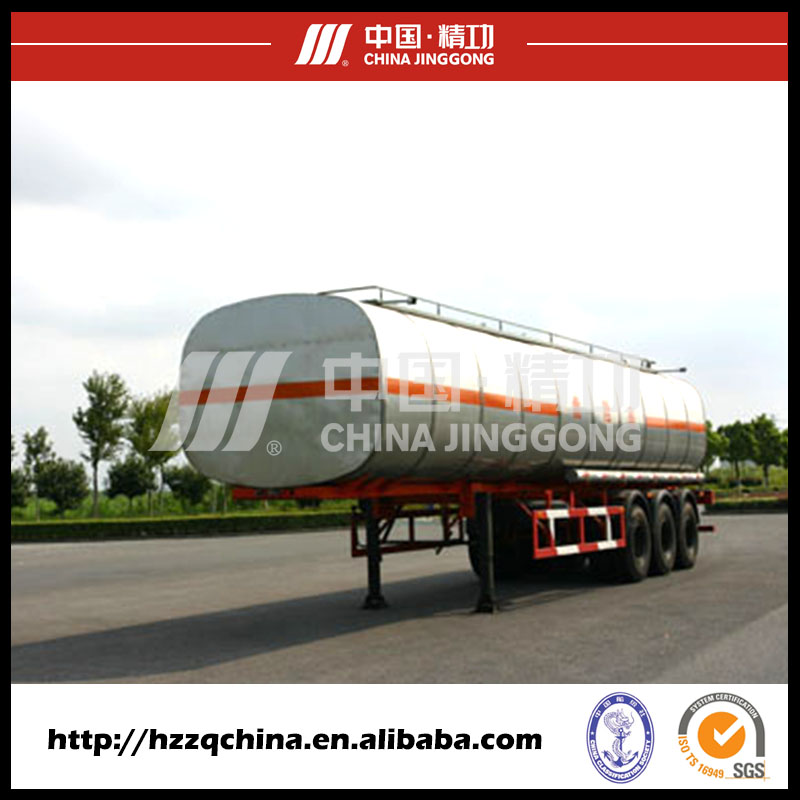 China Manufacturer 3 axle fuel tanker trailer for transporting Diesel
