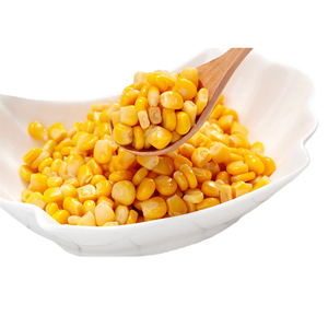 2018 New Production Golden Yellow Canned Sweet Corn for Direct Eating