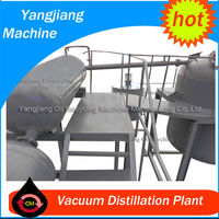 Waste Heavy Fuel Oil Filtering/Recycling System with Vacuum Distillation
