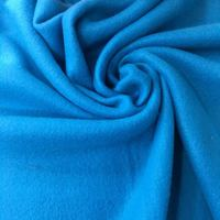 100%polyester plaid spun polyester polar fleece fabric