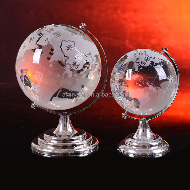 China crystal world globe ball wholesale alibaba hot sale business gift high quality world map sandblast clear crystal globe ball with stand gumiabroncs Gallery