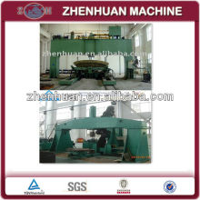 dish head pressing and flanging machine