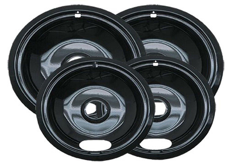 Range Kleen P10124XN Porcelain Universal Drip Pans Set Of 4 Containing 2 Unit... __#G451YH4 51IO3447057