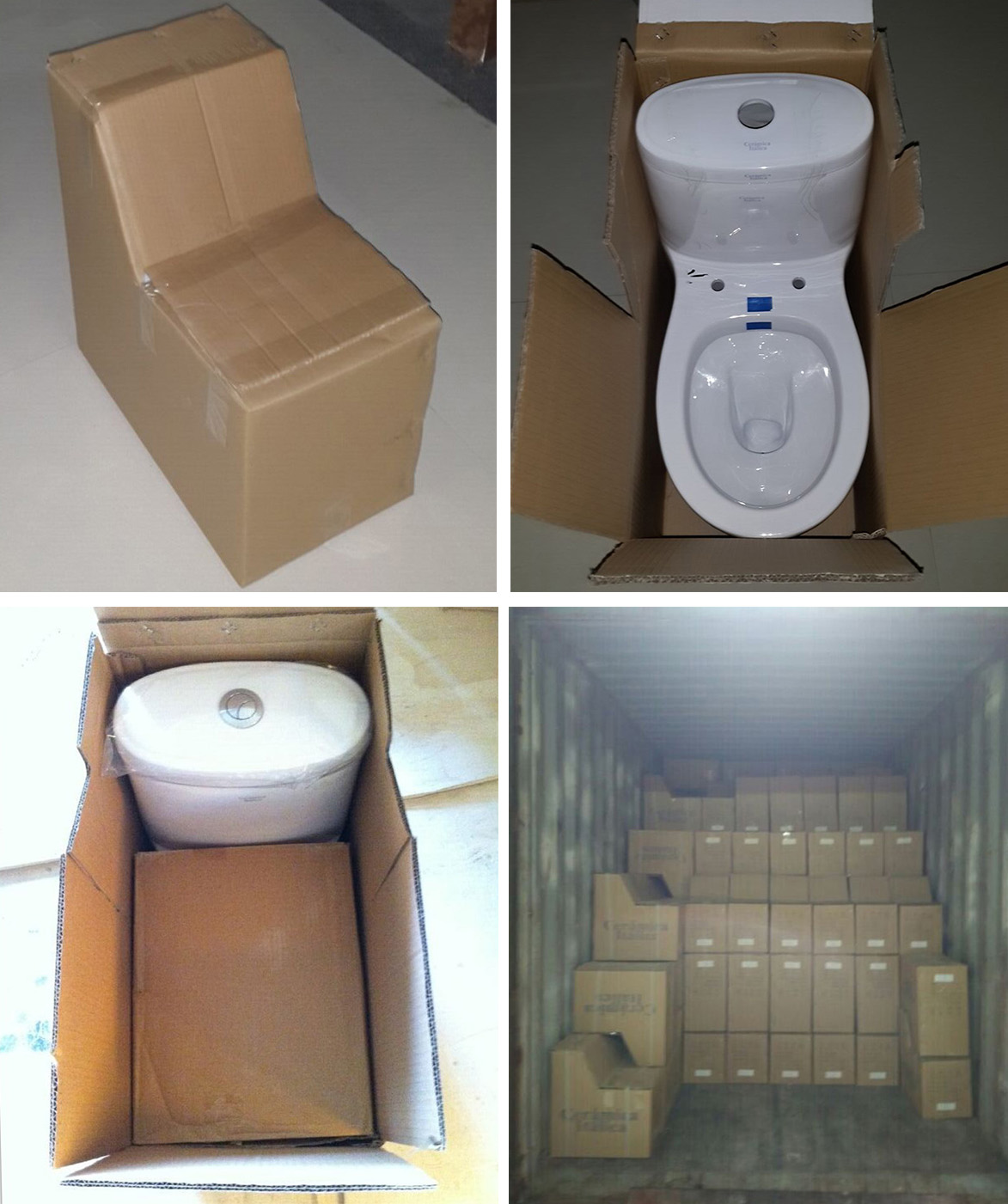 Buy online china china one piece outlet to wall distance 100mm toilet