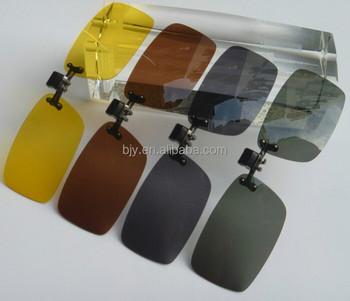 f137a810062 Polarized Sunglasses Clip on Myopia Glasses For Fishing Driving Traveling  Night Vation Flip Up Fashion Sunglass