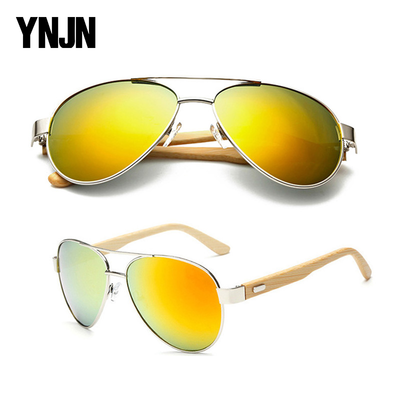 China suppliers 2016 new trendy handmade high quality fashion cheap bamboo sunglasses aviator