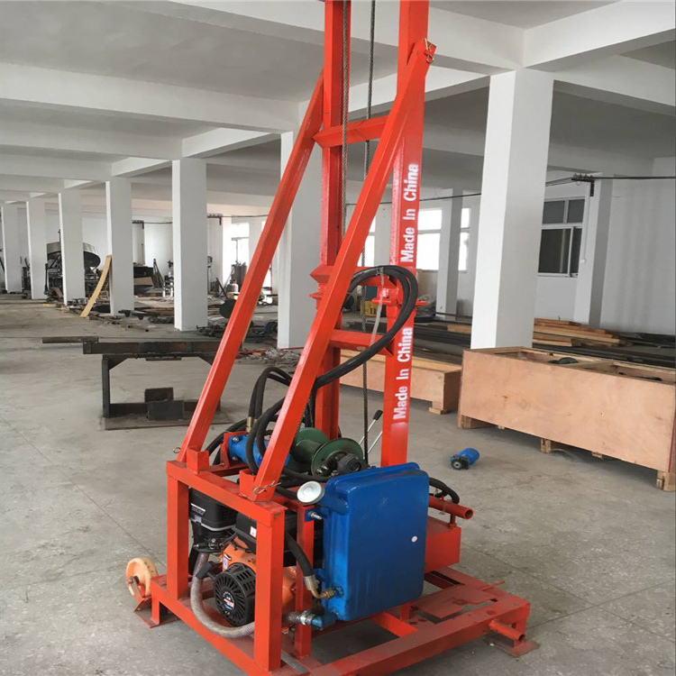 Small hydraulic water bore well rotary drilling machine / a small drill rig wells