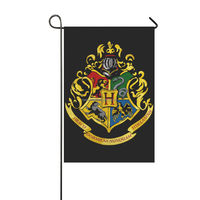 Harry Potter Hogwarts College House garden Flag