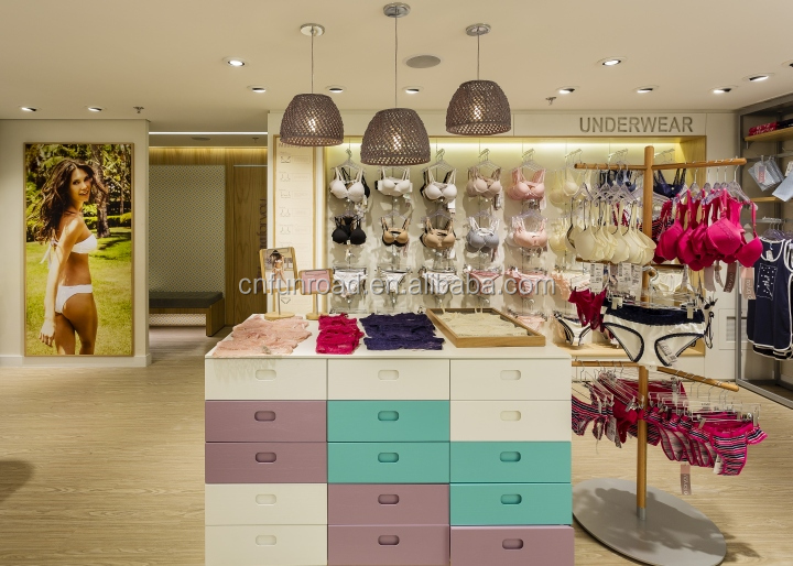 ac3132427 Preço de fábrica Departamento Boutique Lingerie Loja de Móveis de Exibição