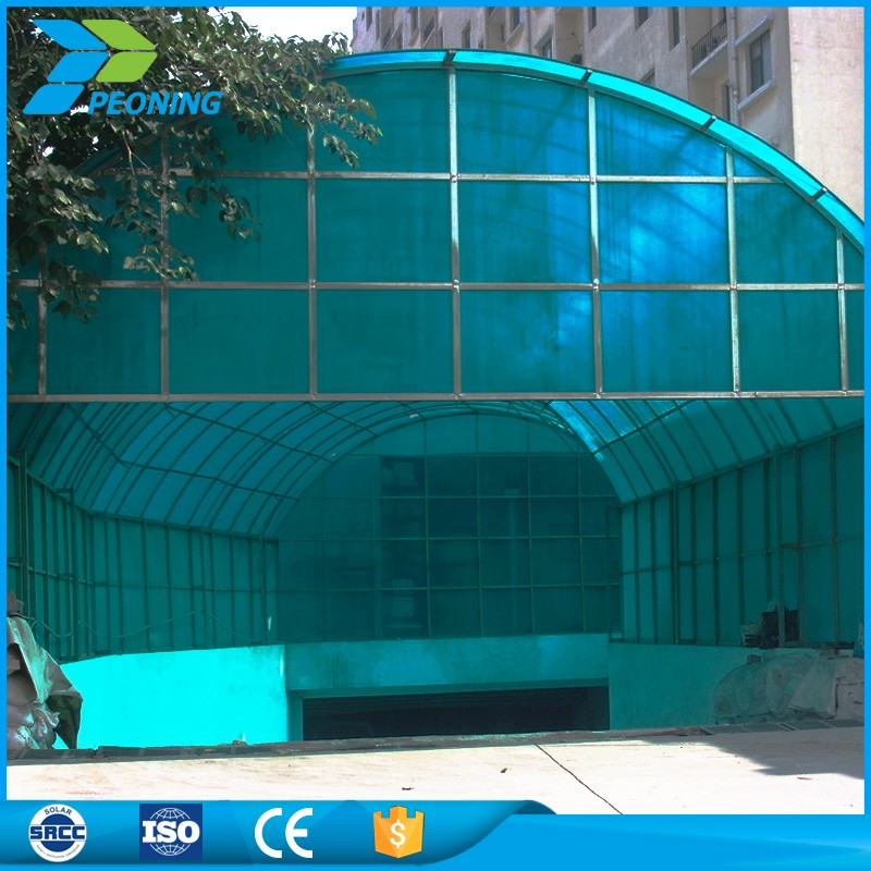 12mm flexible polycarbonate sheet uv sheet for covering