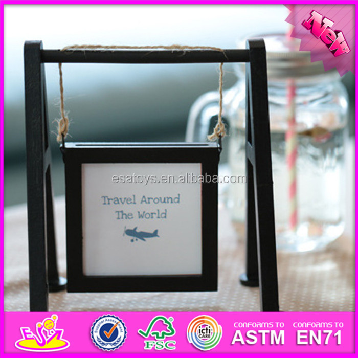 Cheap price wooden image frame for kids,unique picture frames for children,Cute and Lovely home images picture frames W09A053