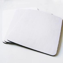 White DIY Sublimation Printable Personalized high quality  Mouse Pads Wholesale
