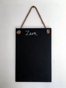 Custom hanging writing blackboards for sale