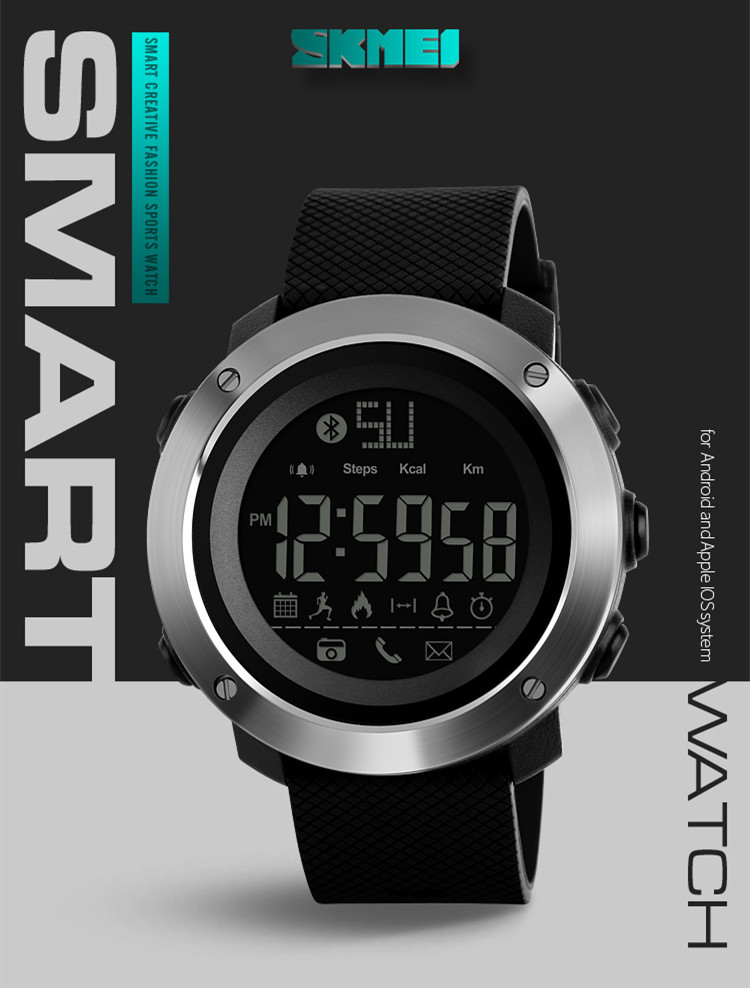 2018 Best 잘 팔리는 skemi 1285 Sport Bracelet Smart Watch