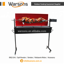 60kg adjustable height vertical large Pig charcoal BBQ spit grill