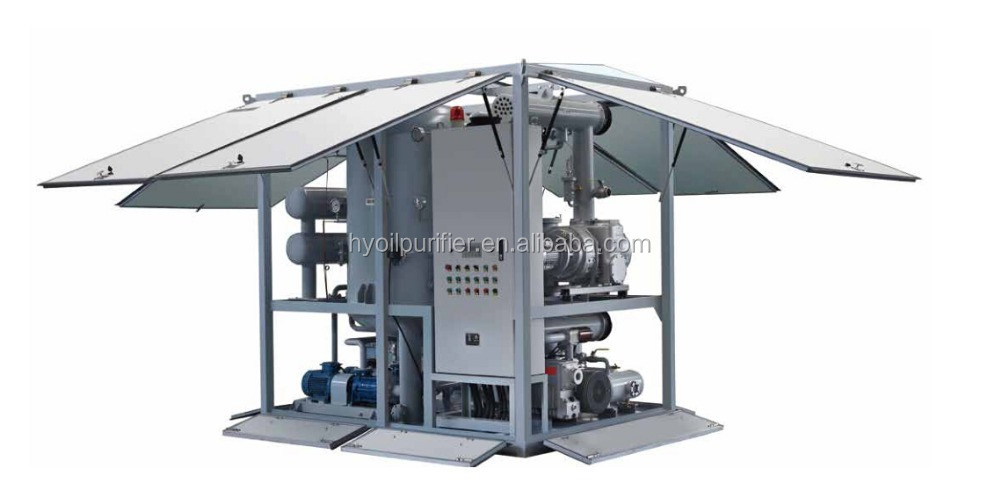 ZJA Double-stage Vacuum Transformer Oil Purifying Machine