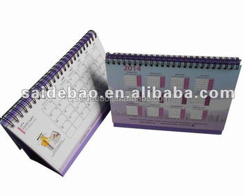 islamic calendar 2014,custom table calendar/desk calendar/Tri-fold wall calendars printing