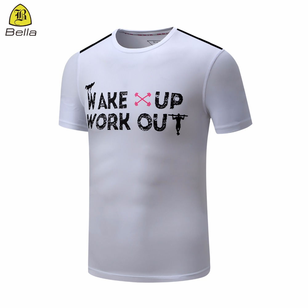 Oneck Running Clothes Printing Dry Fit Mens Sports T Shirt Custom