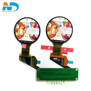 AUO 1.4 inch round lcd display with hdmi driver board for wearable watch H139BLN01.2