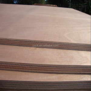 3 layer structure no bending red faced commercial plywood