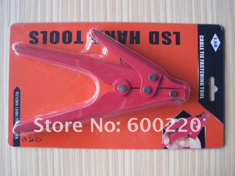 Cable Zip Gun Heavy For Plastic Tie Cutting Tensioning 2.4-9.0mm Tool Automatic