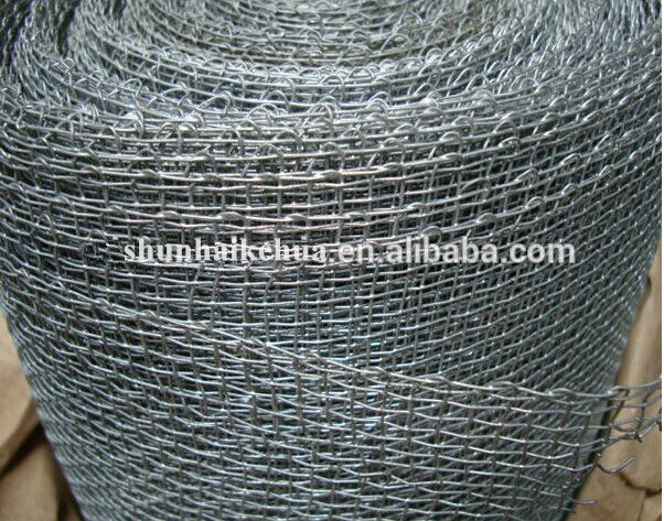 Galvanized Square Hole Insect Net, Closed Edge, 6-inch Mesh/0.8mm Wire Diameter/3.43mm